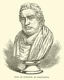 Bust of Johnson, by Nollekens