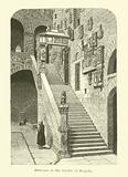 Staircase in the Cortile of Bargello