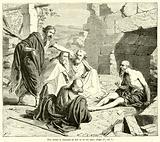 Eliu blame le discours de Job et de ses amis