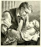 The Father and his Sick Child