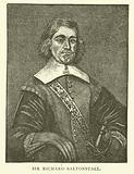 Sir Richard Saltonstall, English settler in Massachusetts