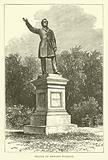 Statue of Edward Everett, American politician and President of Harvard University