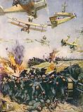 """The """"victorious"""" retreat back to the Rhine"""