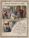 Saul and Barnabas at Lystra