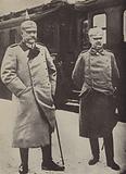 Erich Ludendorff and Paul von Hindenburg, German Army commanders