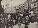 Demonstrations in Berlin against the Treaty of Versailles, 1919