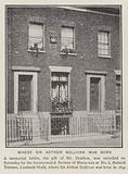 Birthplace of English composer Sir Arthur Sullivan, 8 Bolwell Terrace, Lambeth Walk, London