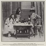 Performance of the pantomime Alice in Wonderland at the Opera Comique, London, 1898
