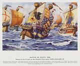 Battle of Sluys, 1340