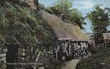Peasant's cottage in the Scottish Highlands