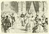 Dancing the quadrille at a French imperial court ball