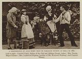 A Performance of Auld Robin Gray in Tableaux Vivants at Simla in 1881