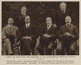 A Group of Conductors and Composers at the Bournemouth Centenary Festival in 1910