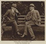 Thomas Hardy and Sir Edmund Gosse