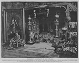 Benjamin Constant in his Studio