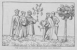 The Lamb-Tree of Tartary, Showing Lamb Emerging