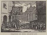 Masquerades and Operas, Burlington Gate