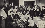 Rasputin Surrounded by Ladies of the Russian Court
