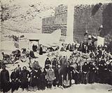 Russian Pilgrims on Mount Sinai