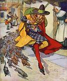 Illustration for The Pied Piper of Hamelin