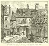 Bewick's Workshop, St Nicholas' Churchyard, Newcastle