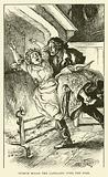 Turpin Holds the Landlady over the Fire