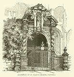 Gateway of St Mary's Church, Oxford