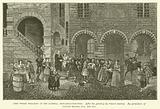 John Wesley preaching on the Sandhill, Newcastle-upon-Tyne