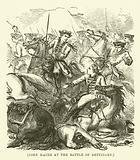 John Haime at the Battle of Dettingen