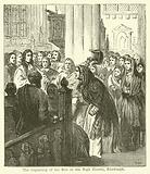 The beginning of the Riot in the High Church, Edinburgh