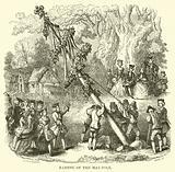 Raising of the May-Pole