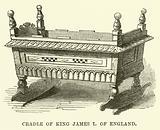 Cradle of King James I of England