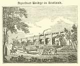 Aqueduct Bridge in Scotland