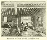 Interior of John Wood's Cropping Shop