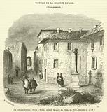La Colonne Infame, elevee a Milan, pres de la porte du Tesin, en 1630, detruite en 1778