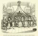 Bal du Mai, donne a Versailles pendant le carnaval de l'annee 1763