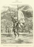 29 novembre 1513, Balboa prend possession de la mer du Sud au nom de la Castille et du royaume de Leon