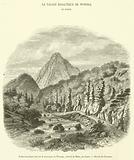 Vallee basaltique pres de la montagne de Wonoga, district de Muts, au Japon