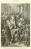 Le Couronnement de Hugues Capet, a Noyon, le 1er juin 987