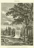 Le Tombeau du poete Gray, a Stoke, pres de Windsor