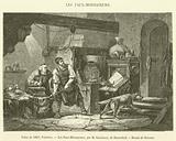 Salon de 1863, Peinture, Les Faux-Monnayeurs