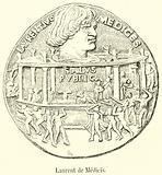 Laurent de Medicis, Bronze