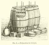Preparation du vinaigre