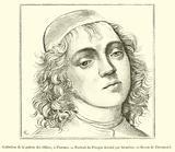 Collection de la galerie des Offices, a Florence, Portrait du Perugin