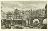 Dix-huitieme siecle, Lutte de bateliers sur la Seine, a Paris