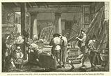 Atelier du sieur Jadot, menuisier, a Paris, 1775