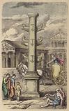 Column commemorating a Roman naval victory