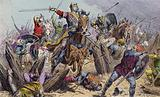 William the Conqueror at the Battle of Hastings, 1066