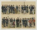 Marines and colonial troops of European armies