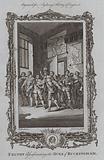 Felton assassinating the Duke of Buckingham